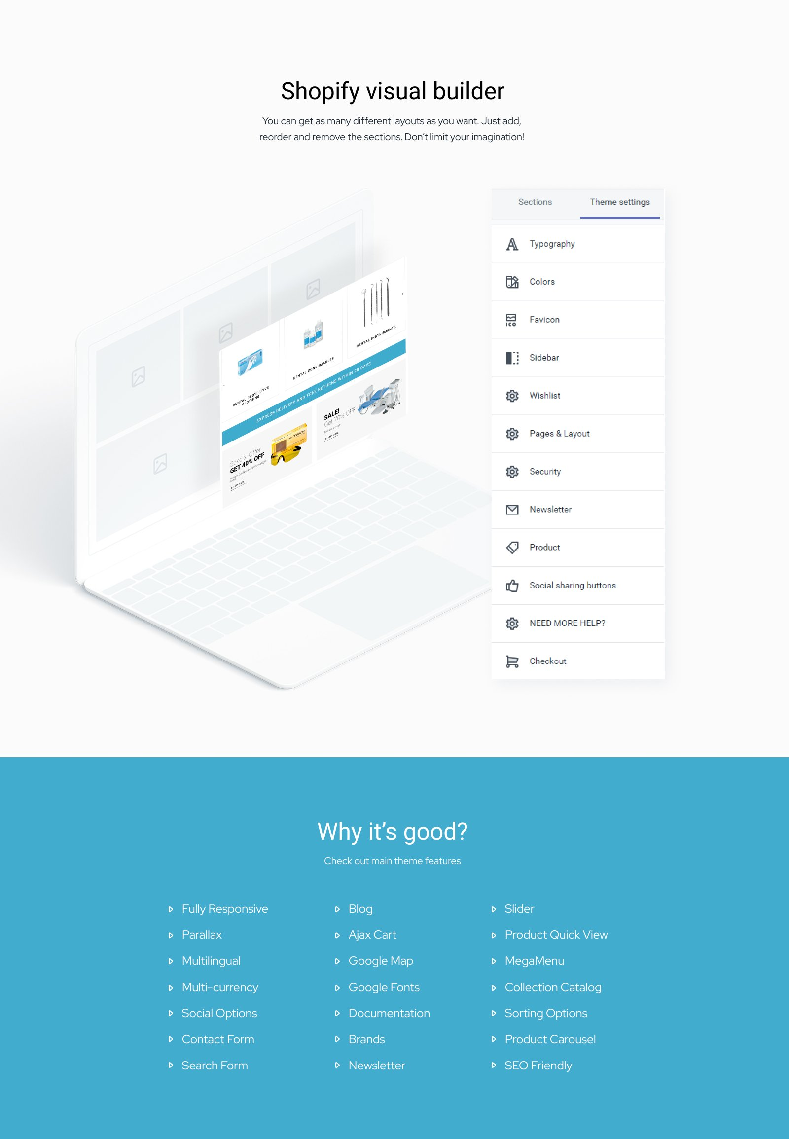 Dentalus - Dental Store eСommerce Clean Shopify Theme