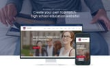 """Cedar High - University"" Responsive WordPress thema"