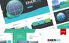 Energo   PowerPoint Template Big Screenshot