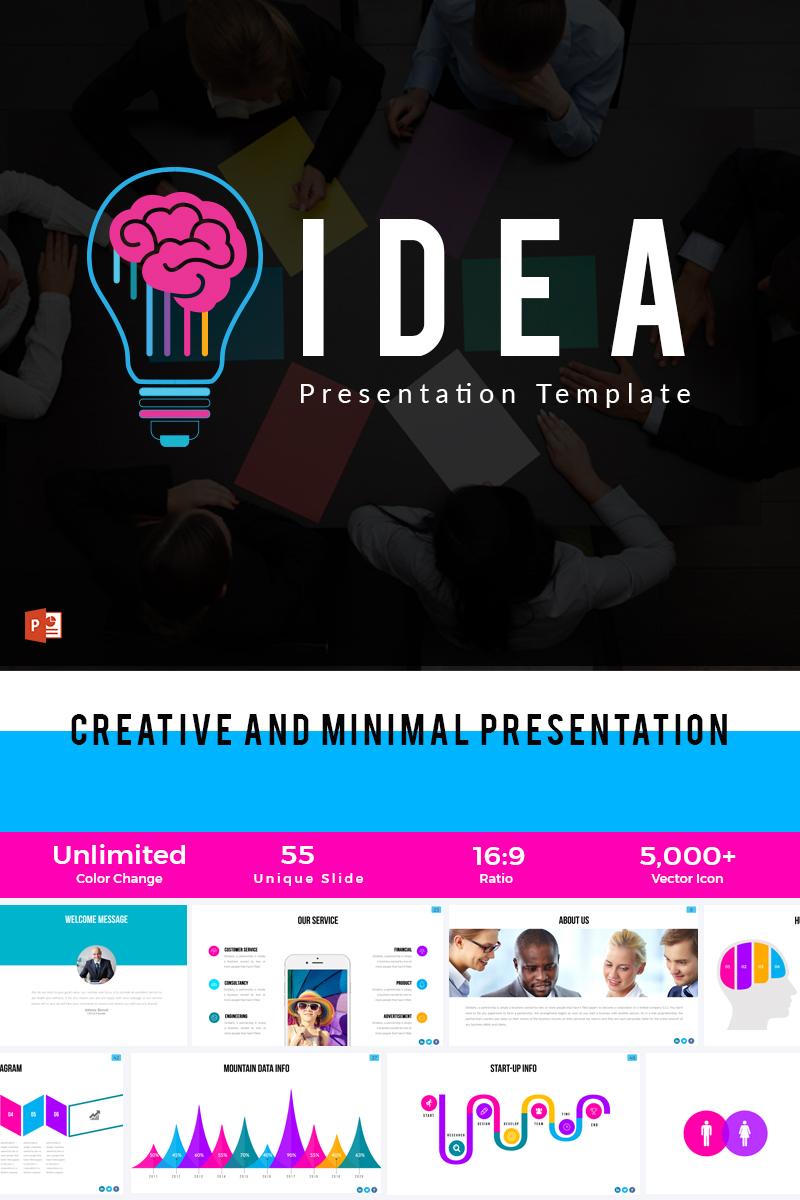 idea powerpoint template #66062, Idea Presentation Template, Presentation templates