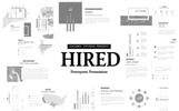 Hired - PowerPoint Sunum Şablonu