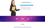 Consulting/Service Muse Template