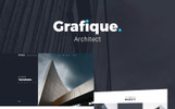 Grafique - WordPress Theme für Architekten