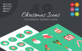 Zestaw Ikon Christmas Icon Pack #66061