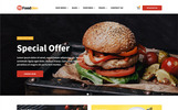 FoodDev - Food Restaurant Responsive Multipage Website Template