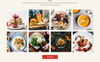 FoodDev - Food Restaurant Responsive Multipage Website Template Big Screenshot