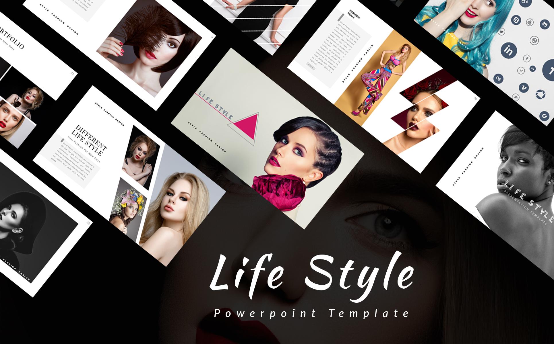 Life style presentation powerpoint template 66096 zoom in toneelgroepblik Gallery