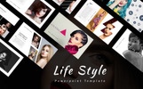 Life Style Presentation PowerPoint Template