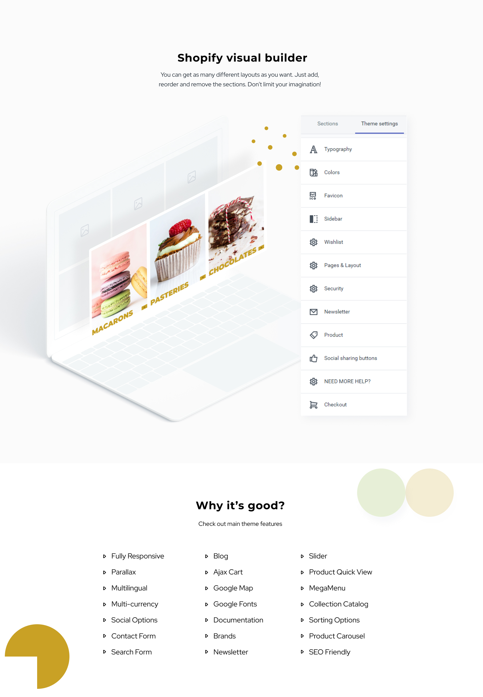 Sweet Life - Sweet Shop Multipage Clean Shopify Theme