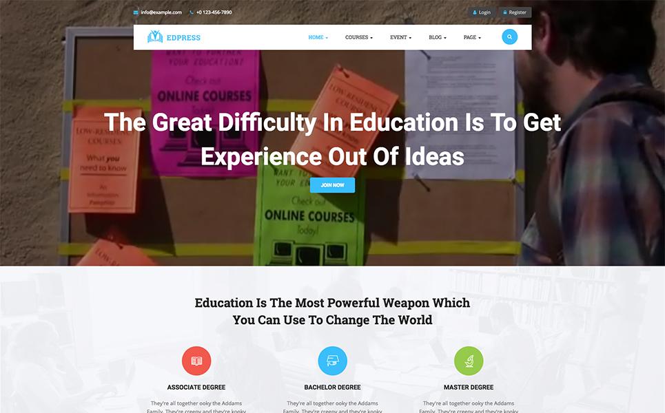 WordPress Theme #70631 für Ausbildung