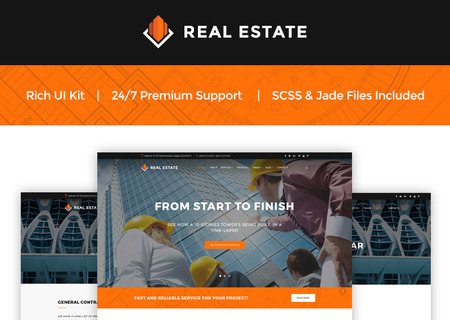 Construction Company Landing Page
