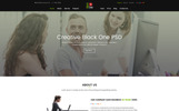 Black_One Busniess PSD Template