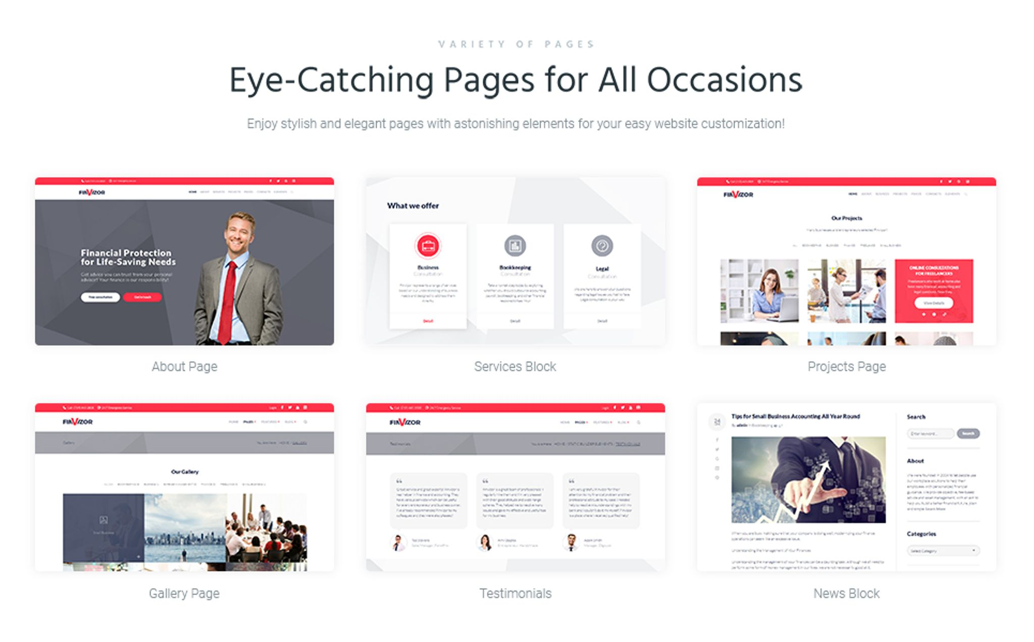 finvisor business consultant wordpress theme 66066
