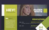 Aileen White - Copywriter Resume Template