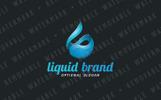 Liquid Fluid Logo Template