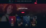MovieTown - Movie  & Music PSD Template