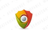 Shutter Shield Logo Template