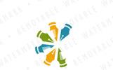 Creative Crescent Logo Template