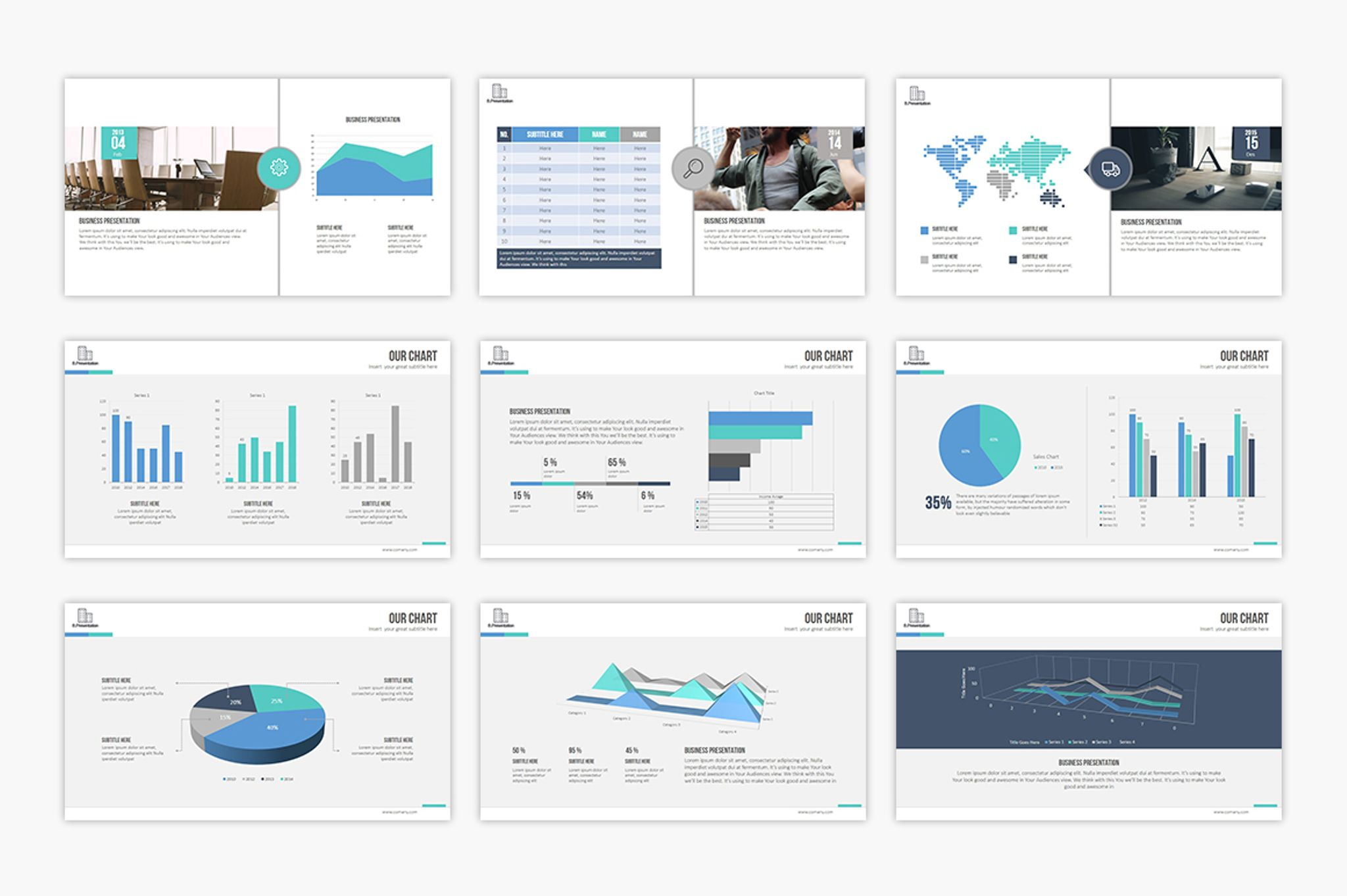 Business Presentation Keynote Templates Keynote Template #64543
