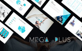 Mega Plus Presentation PowerPoint Template