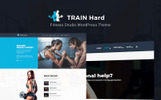 "WordPress motiv ""Train Hard Fitness"""