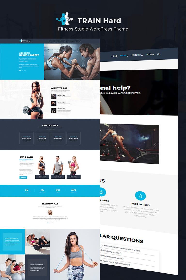 WordPress Theme #66079 für Bodybuilding