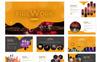 Firework | PowerPoint Template Big Screenshot