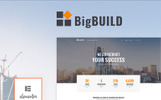 """BigBuild - Construction"" WordPress thema"