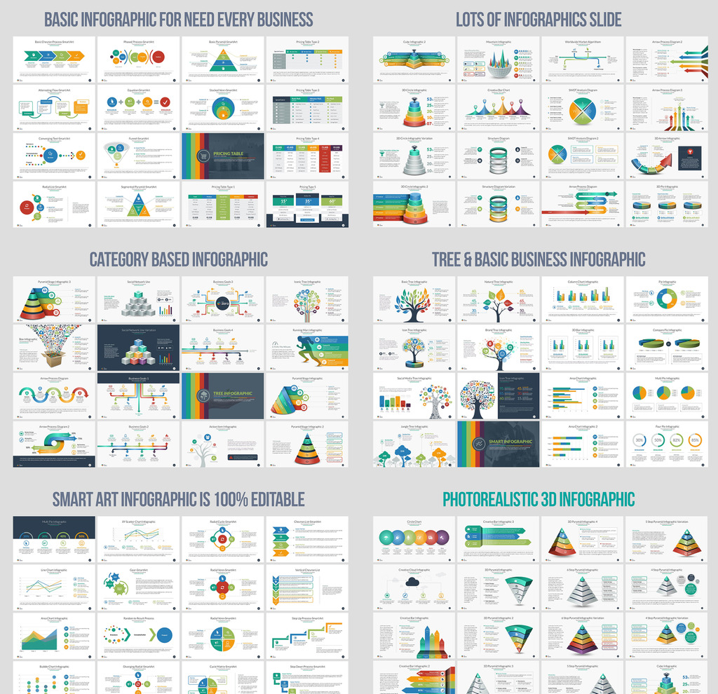 powerpoint smart art templates choice image - templates example, Modern powerpoint