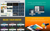 Business Infographic Presentation - PowerPoint Template Big Screenshot