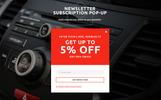 Tema Magento para Sitio de Audio para coches