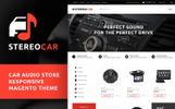 Magento Theme für Car Audio Produkte