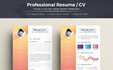 Creative & Professional - Resume Template