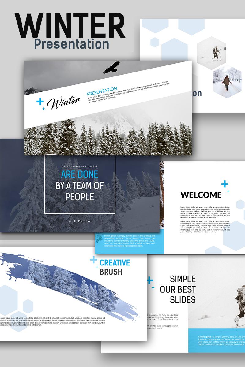 Plantilla Keynote #66116 para Sitio de Diseño y Fotografía