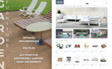"Modello PrestaShop Responsive #66113 ""Garden Furniture"""