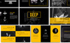 Deep Creative - Presentation PowerPoint Template Big Screenshot