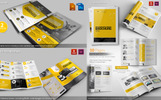 Web Design Agency Stationery Mega Branding Bundle Corporate Identity Template