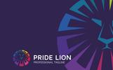 "Logo Vorlage namens ""Pride Lion"""