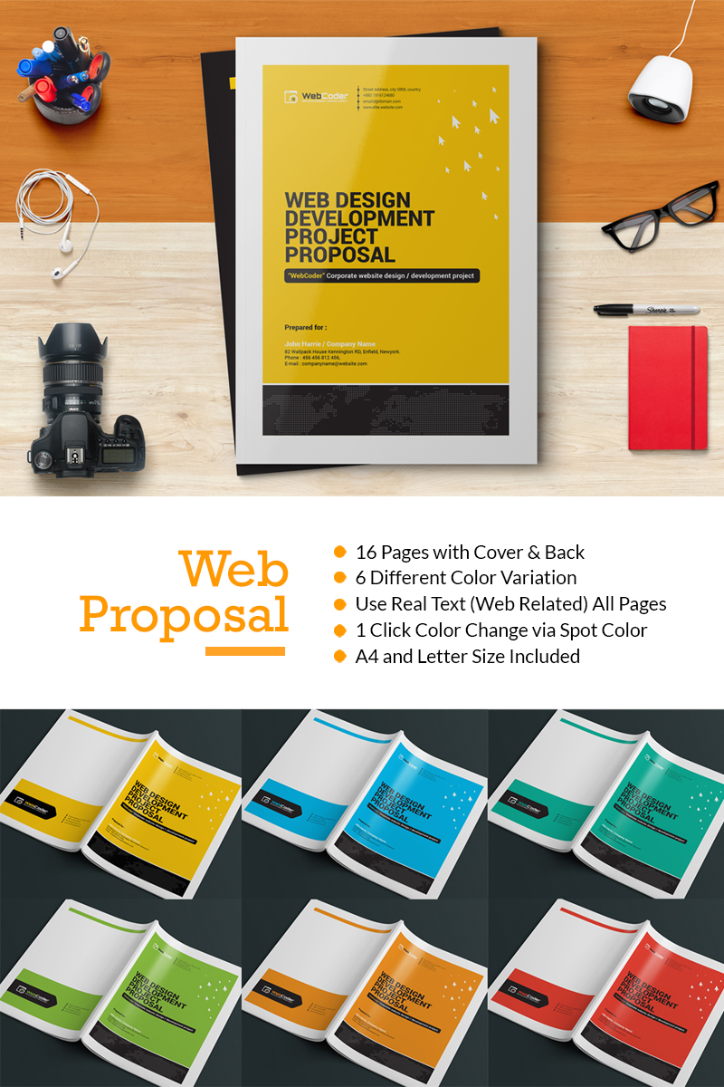 Web Proposal For Web Design And Development Agency Corporate