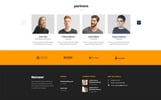 NURZZER - Multipurpose, Consulting,Finance, Business Agency PSD Template