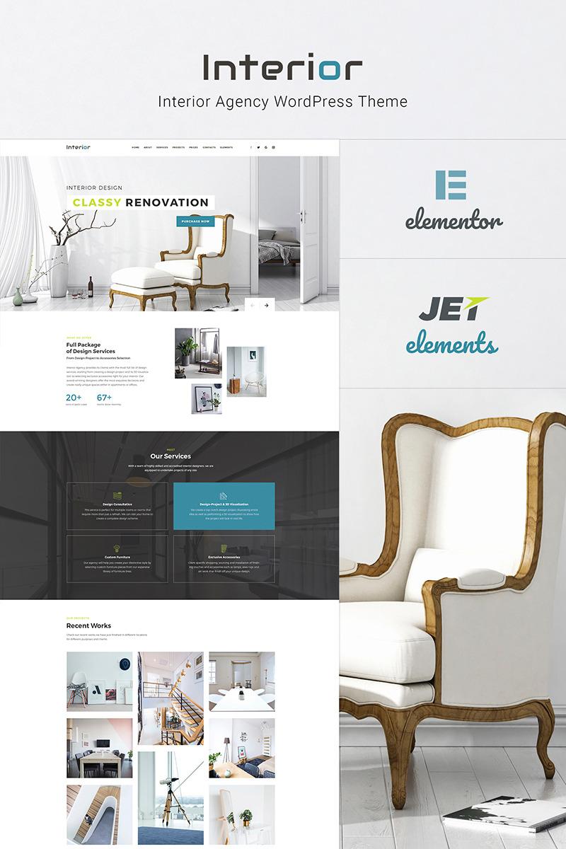Delicieux Interior   Interior Design Company Responsive WordPress Theme Big Screenshot