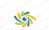 Fiber Eye Logo Template
