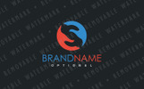 S Trading Hands Logo Template