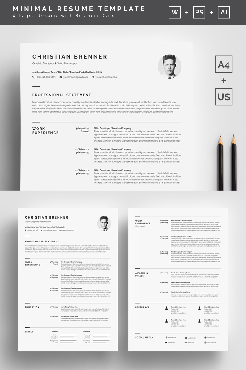 clean resume template clean resume template