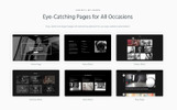 WordPress thema over Foto Galerij