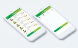 Grocery Store Mobile App UI Kit UI Elements