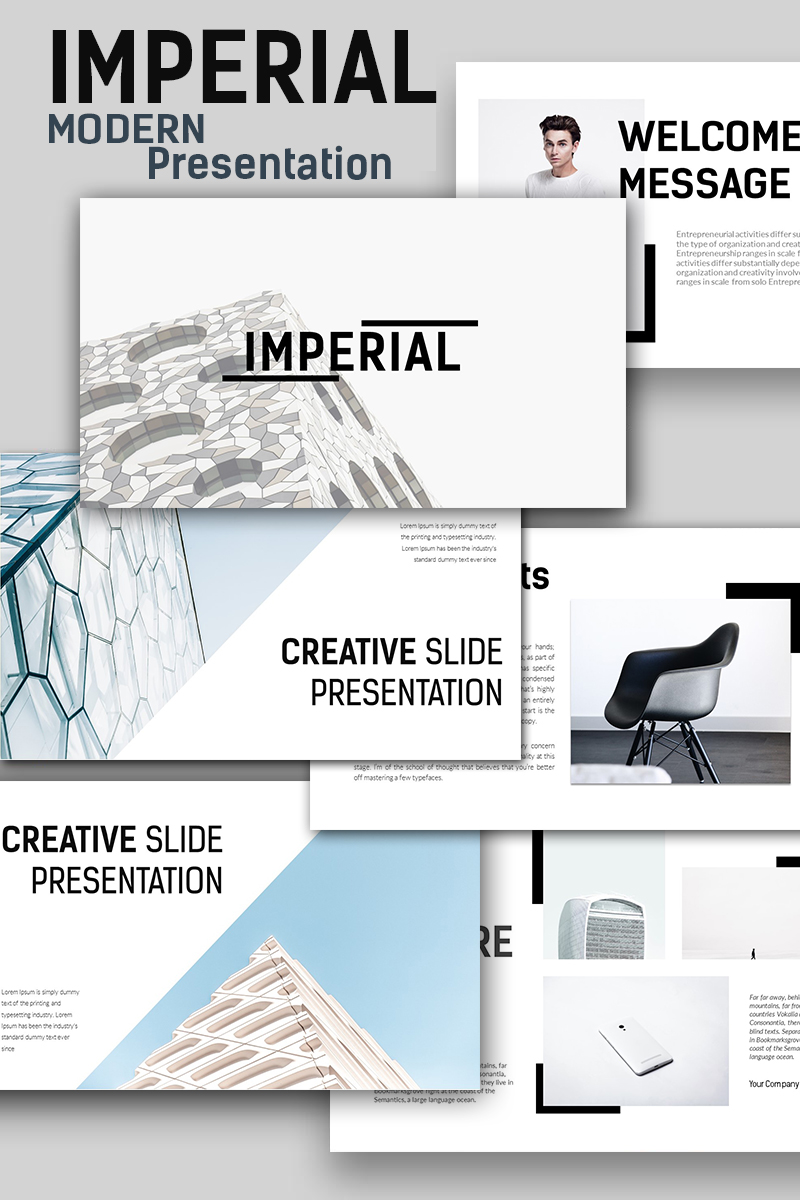 Imperial modern powerpoint template 66173 toneelgroepblik Image collections