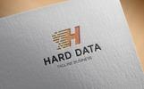 Hard Data Logo Template