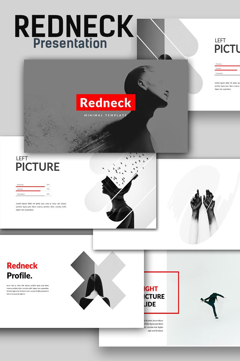 Redneck creative minimal powerpoint template 66160 toneelgroepblik Images