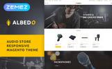 """""""Albedo - Audio Store"""" Magento模板"""
